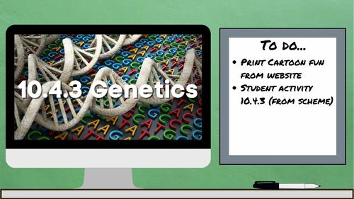 10.4.3 Genetics (AQA KS3 Activate 2)