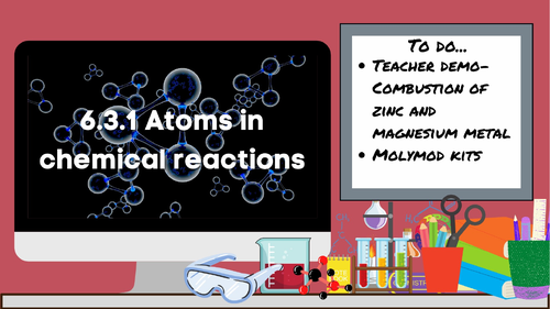 KS3 AQA Activate 6.3.1 Atoms in chemical reactions