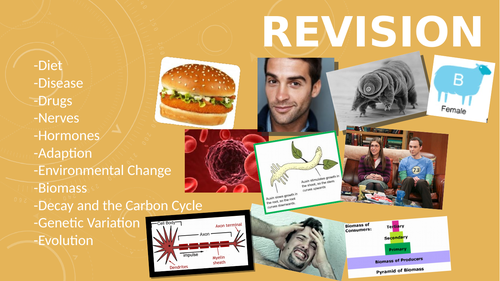 Biology Unit 1 Revision