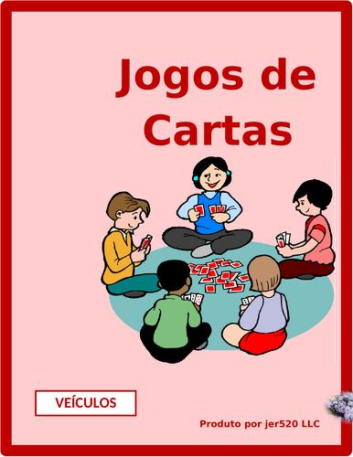 Veículos (Vehicles in Portuguese) Concentration Games