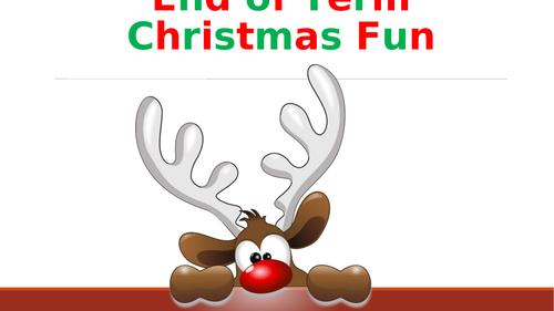 Christmas Themed Drama Games