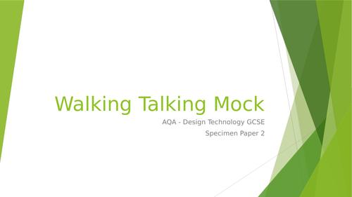 Walking Talking Mock - Design Technology AQA new GCSE
