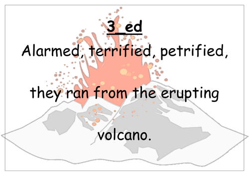 Alan Peat Style Sentence Types Romans and Volcanoes