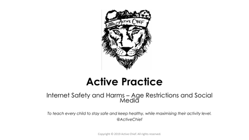KS2 Internet Safety and Harms - Age Restrictions and Social Media