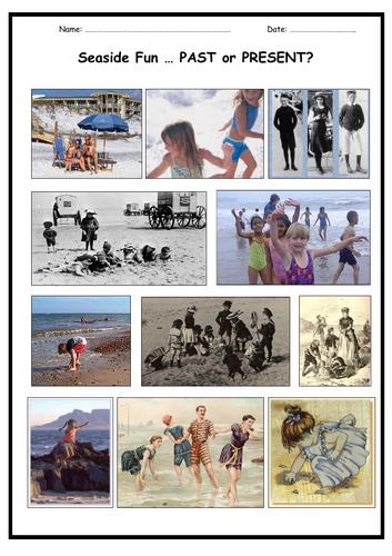 Seaside Fun ... Past or Present?