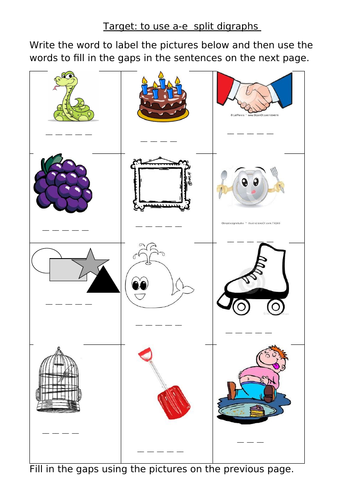 Phonics Worksheets Year 1 Phase 5 Teaching Resources