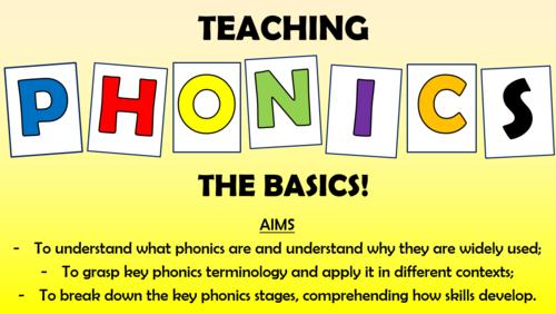 Teaching Phonics: The Basics CPD Session!