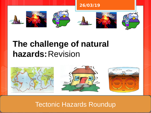 Tectonics revision lesson for AQA Geography GCSE