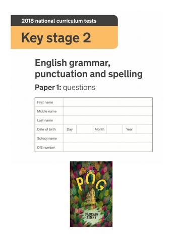 Y6 KS2 Grammar GPS SPaG Paper (Half - 25 questions) Punctuation