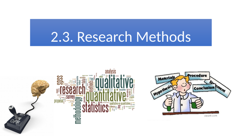 Oxford International AS Psychology - Experimental Methods ppt