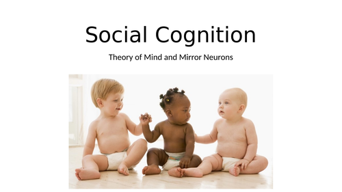 Oxford International AS Psychology - Social Cognition ppt.