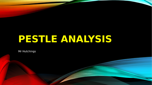 PESTLE Analysis Resources