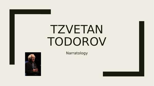 Todorov - narrative theory