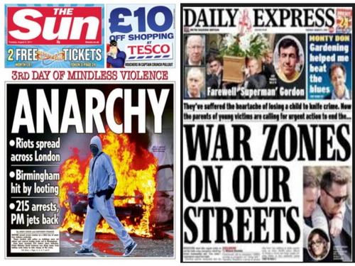 Sociology London Riots & Knife Crime AO2