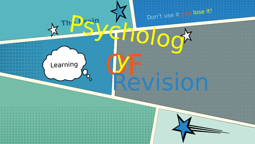 Revision Assembly based on the brain and psychology.