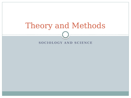 AQA Sociology and Science