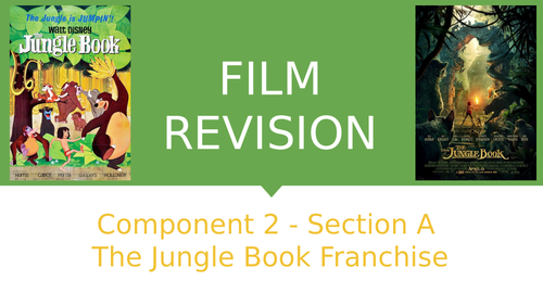 The Jungle Book - Revision Guide - OCR A Level Media