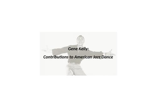 A level Dance - Singin' in the Rain analysis (American Jazz Dance)