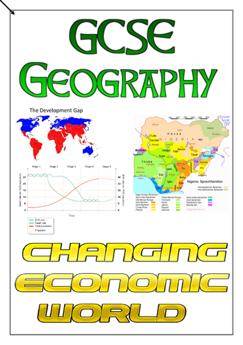 AQA GCSE Geography - Changing Economic World Revision Workbook