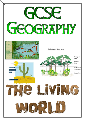 AQA GCSE Geography - Living World Revision Workbook