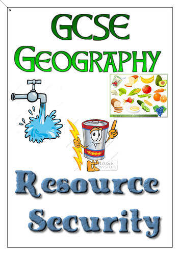 AQA GCSE Geography - Resource Management Revision Workbook