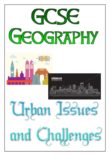 AQA GCSE Geography - Urban Issues and Challenges Revision Workbook