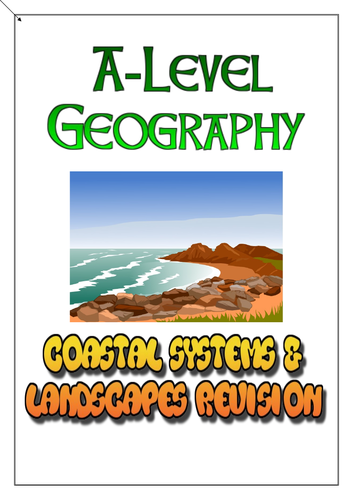 AQA A-Level Geography - Coastal Systems and Landscapes Revision Workbook