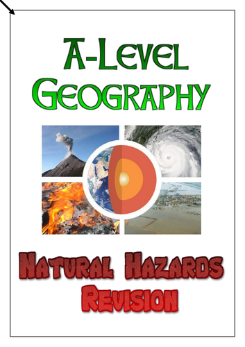 AQA A-Level Geography Hazards Revision Workbook