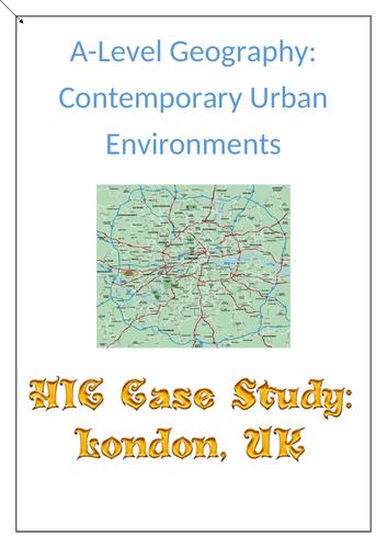 Contemporary Urban Env. Case Study - HIC - London