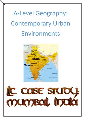Contemporary  Urban Env. case study - LIC - Mumbai