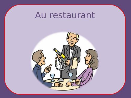Au restaurant / At the restaurant