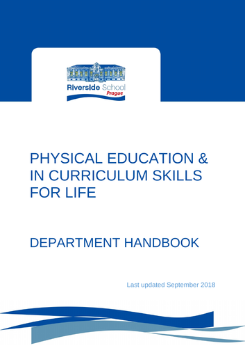 Whole School Physical Education Department Handbook