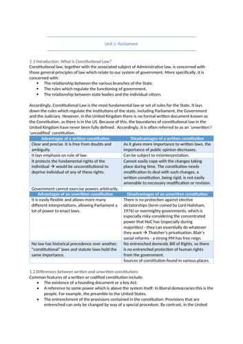 Constitution revision, public law