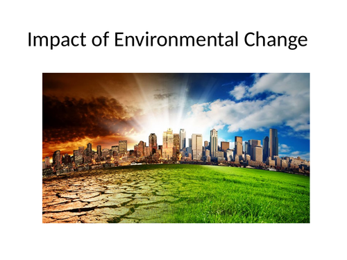 9-1 AQA GCSE Biology - U7 L5.1 5.2 Decomposition and Environmental Change (Research Task)