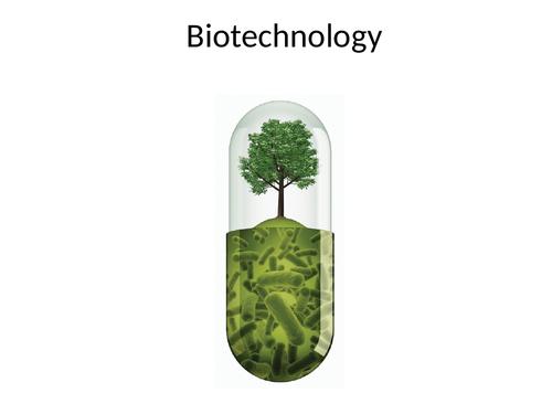 9-1 AQA GCSE Biology - U7 L14 (T) Role of Biotechnology