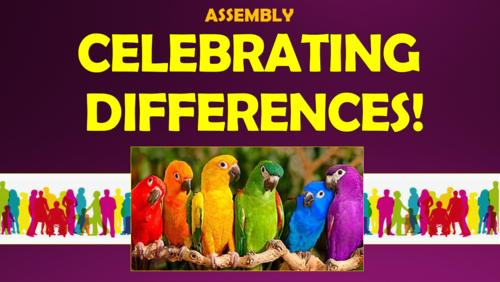 Celebrating Differences Assembly!