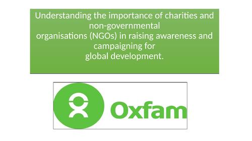 Oxfam - NGO and Global Development
