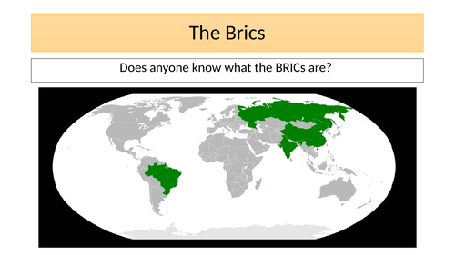BRIC and MINT countries