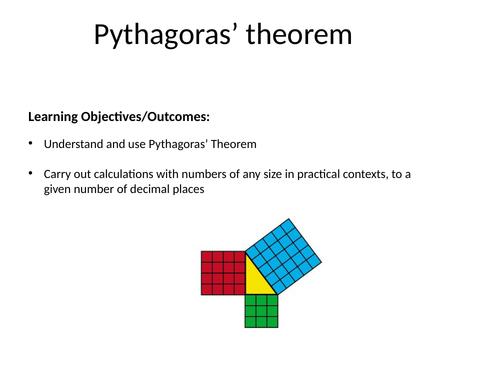 Pythagoras Powerpoint