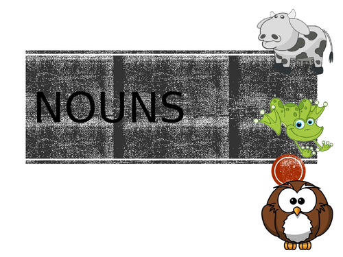 Introduction to nouns