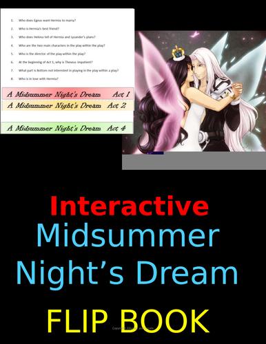 A Midsummer Night's Dream Flipbook