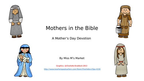 Mother's Day Bible Devotion PowerPoint