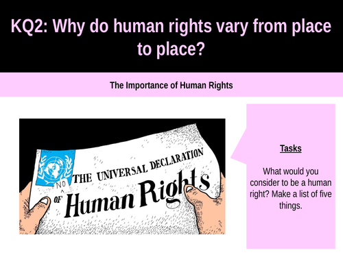 8.4 The importance of human rights