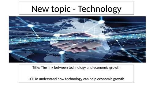 Technology speeding up development