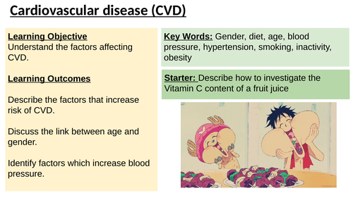 IAS / IAL Edexcel Biology Unit 1 Topic 1: Factors affecting CVD