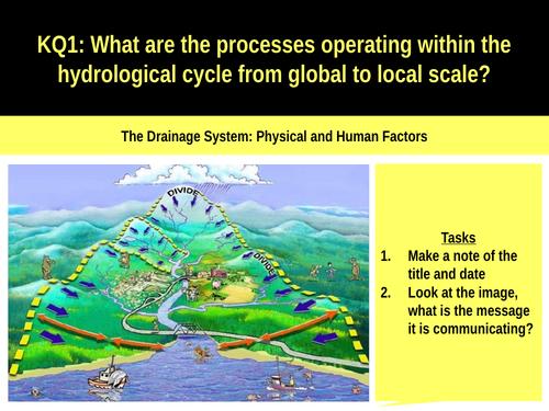 5.2bc The drainage basin Physical and human factors