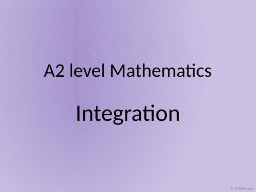 A level A2 Mathematics Integration