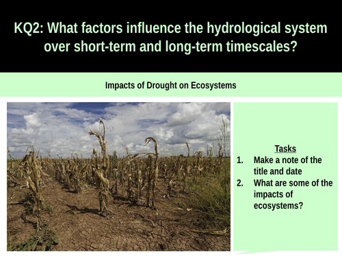 5.4c Impacts of drought on ecosystems