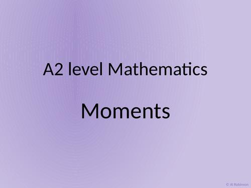 A level A2 Mathematics Mechanics – Moments