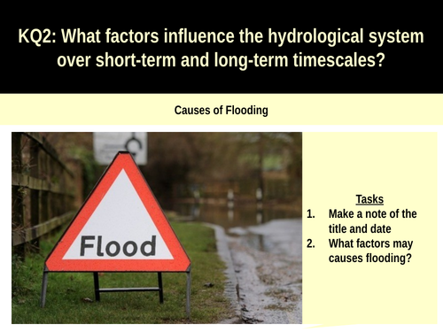 5.4ab Causes of flooding